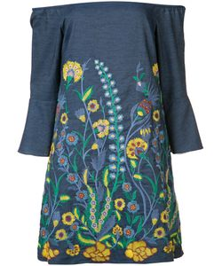 Alice + Olivia | Embroidered Dress Size Medium