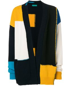 Paura | Colour-Block Cardigan Men M