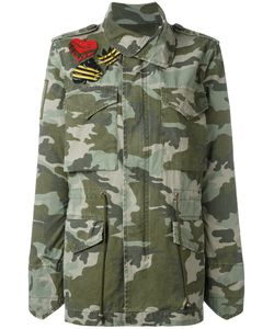 MR & MRS Italy | Camouflage Military Jacket Small