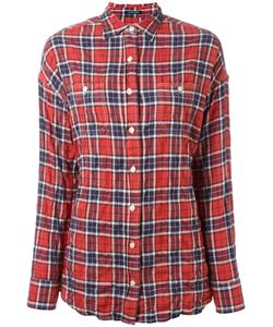R13 | Checked Twisted Back Shirt