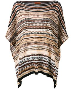 Missoni | Striped Knitted Poncho