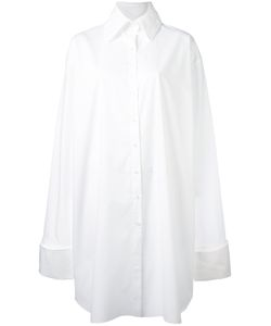 Marques Almeida   Платье-Рубашка Очень Свободного Кроя