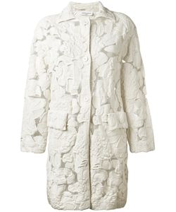 Sonia Rykiel | Sheer Detail Midi Coat Small