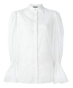 Alexander McQueen | Exaggerated Sleeve Blouse 42 Cotton