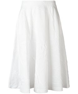 Jil Sander | Wrinkle Effect Skirt 38 Cotton/Polyester