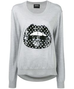 Markus Lupfer | Sequin Lips Sweater