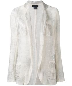 Avant Toi | Distressed Knitted Blazer