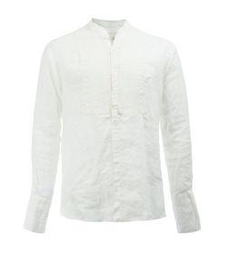 GREG LAUREN | Tuxedo Shirt 3 Linen/Flax