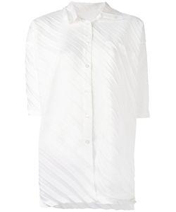Issey Miyake Cauliflower | Плиссированная Рубашка