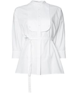 Adam Lippes   Belted Shirt 4 Cotton