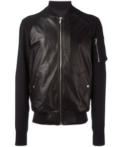 Rick Owens | Classic Bomber Jacket 48 Sheep Skin/Shearling/Viscose/Acetate/Cotton