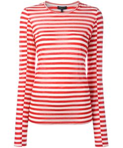 Rag & Bone | Striped Sweatshirt Large Tencel/Cashmere/Silk