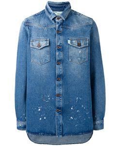 OFF-WHITE | Chest Pockets Denim Jacket Medium Cotton