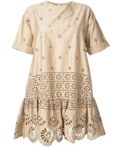 Sea | Exploded Eyelet T-Shirt Dress 2 Cotton