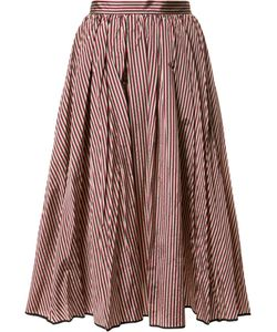TOME | Flared Stripe Skirt