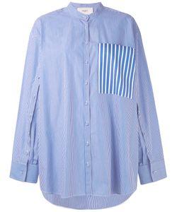 Ports 1961   Рубашка С Фальшивыми Рукавами И Нагрудным Карманом