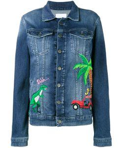 Mira Mikati | Rainforest Embroide Denim Jacket 34 Cotton