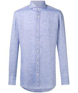 BORRELLI | Plain Shirt 43 Linen/Flax