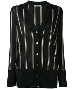 Lanvin | Striped Knitted Cardigan Small Viscose