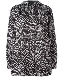 GIAMBA | Zebra Print Jacket 42 Polyamide