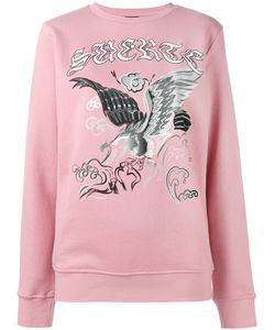 MARCELO BURLON COUNTY OF MILAN | Eagle Print Sweatshirt Size Xs