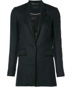 Rag & Bone | Single Button Blazer 4 Wool/Spandex/Elastane