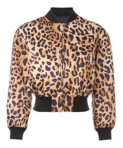 Dsquared2 | Leopard Print Bomber Jacket Size 42