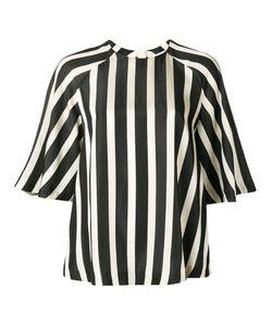 MSGM | Striped Raglan Blouse 34 Viscose/Cotton