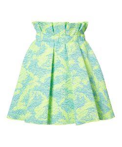 MSGM | Cloqué Flared Mini Skirt Size 40