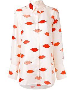 Victoria, Victoria Beckham | Victoria Victoria Beckham Lips Print Loose-Fit Shirt 8