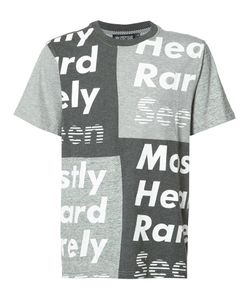 Mostly Heard Rarely Seen | Patchwork T-Shirt Size Small
