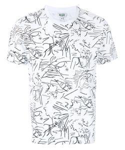Kenzo | Linear Print T-Shirt Size Large