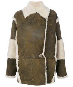 Drome | Contrast Shearling Coat