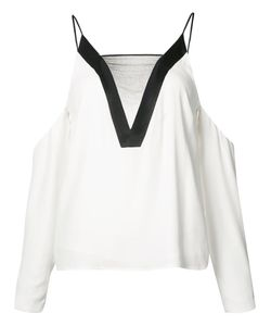 C/MEO | Cut-Out Blouse Medium Viscose/Polyester/Acetate