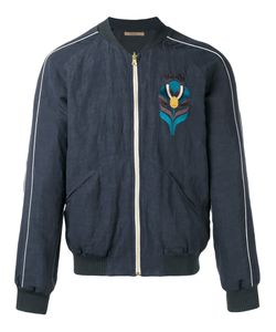 Nuur   Embroidered Bomber Jacket 50