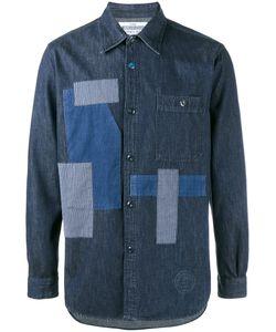 Neighborhood   -Patch Denim Shirt Large Cotton