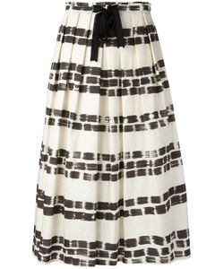 Max Mara | Brushstroke Print Pleated Skirt