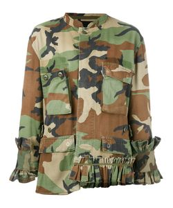 Erika Cavallini | Camouflage Jacket One