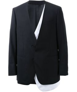 Consistence | Collarless With Detachable Blazer Men