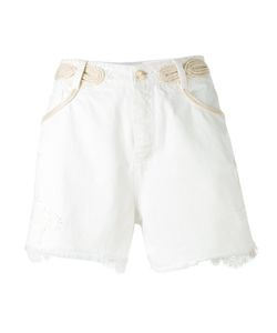 Ermanno Scervino | Distressed Denim Shorts