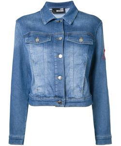Love Moschino | Cropped Denim Jacket Size 42