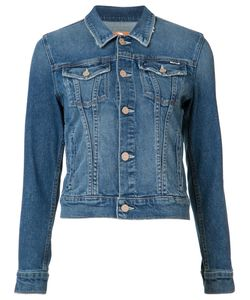Mother | Denim Jacket Small Acetate/Cotton/Spandex/Elastane