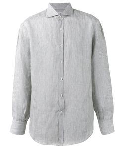 Brunello Cucinelli   Striped Shirt Size Xxl
