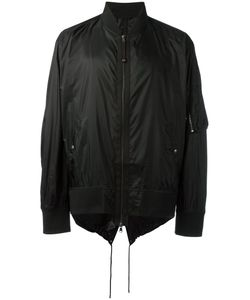 Diesel Black Gold | Strings Bomber Jacket 52 Nylon/Polyester/Spandex/Elastane