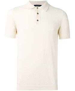 Roberto Collina   Short Sleeve Polo Shirt Size 52