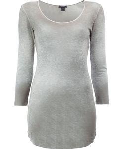 Avant Toi | Long Ribbed T-Shirt Medium Viscose