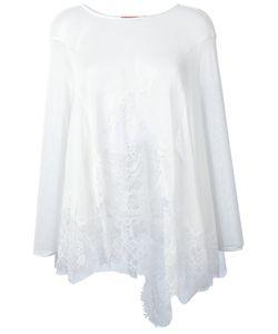 Ermanno Scervino   Lace Detail Blouse Size 44