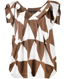 Vivienne Westwood Anglomania | Triangle Print Blouse