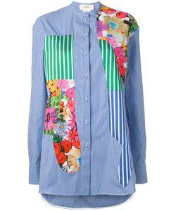 Ports 1961   Полосатая Рубашка С Цветочными Принтами