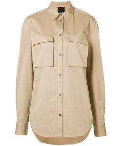 Josh Goot   Utility Shirt Small Cotton/Spandex/Elastane